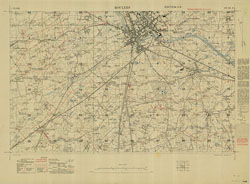 Trench Maps of the Battle Front in France and Belgium, Roulers